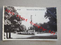 Romania / Ploesti - Bulevardul Si Statuea Vanatorilor ( 1936 ) - Rumania