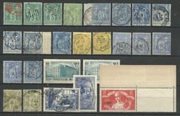 FRANCE LOT OBLITERES ET NEUFS - Collections (without Album)