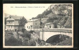 CPA Morez-du-Jura, L`Octroi A L`Entree De La Ville - Morez