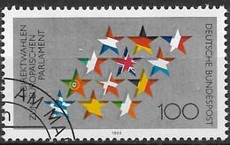 1994 Deutschland Germany Mi. 1724 FD-used Vierte Direktwahlen Zum Europäischen Parlament - Oblitérés