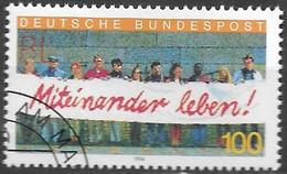 1994 Deutschland Germany Mi. 1725 FD-used  Ausländer In Deutschland: Miteinander Leben. - Oblitérés