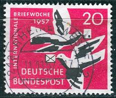 BRD - Mi 276 ⨀ (C) - 20Pf            Briefwoche - Oblitérés