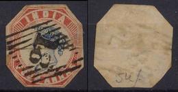 India 1854 Mi# 7 Used 4 ANNA - 1854 Britische Indien-Kompanie