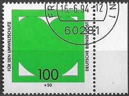 1994 Deutschland Germany Mi. 1737 FD-used    Umweltschutz - Oblitérés