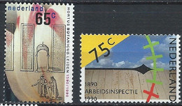 Pays-Bas YT 1345-1346 Neuf Sans Charnière XX MNH - Neufs