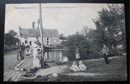CPA Yvelines - Bouviers (78280) – La Mare De La Ferme – Edition Buot – Animée - A Voyagé En 1907. - Sin Clasificación