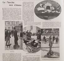 1899 PARIS - LE MARCHÉ AUX CHIENS - Revistas - Antes 1900