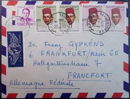 Afrique MAROC - Cover AIRMAIL 1974 To Germany Deutschland PAR AVION - Maroc (1956-...)