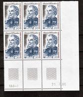 TAAF 128 Bloc De 6 Avec Rotative Coin Daté 21 7 1986 Fauneneuf ** MNH Sin Charmela - Neufs