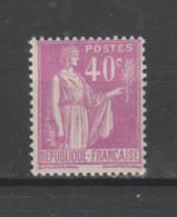 FRANCE / 1932 / Y&T N° 281 ** : Paix 40c X 1 - Neufs