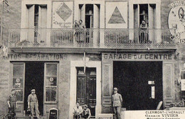 30 . GARD .//  CLERMONT L HERAULT. GARAGE VIVIER MECANIQUE GENERALE//ANIMEE - Clermont L'Hérault