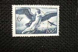 Perfin Lochung France Avion 100frs Jupiter PA N°18   Perforé SS200 - Perforés