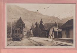 OLD PHOTO POSTCARD - SWITZERLAND -   STANS - BAHNHOF - STATION - NW Nidwalden