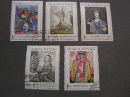 CSR Kunst 1966 1668 - 1672 - Used Stamps