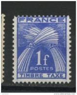 FRANCE - TAXE  - N° Yvert 81 ** - 1859-1955 Neufs