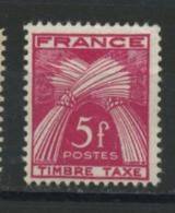 FRANCE - TAXE  - N° Yvert 85 ** - 1859-1955 Neufs