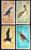 Grenada Grenadines 1974 Birds From Definitives Overprint Set MNH - Unclassified