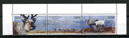 TAAF 2017  N° 851/853 ** Neuf MNH Superbe Faune Rennes Sciences Programme Renker Animaux - Neufs