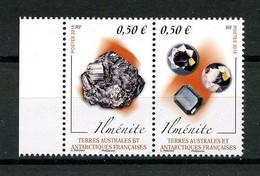 TAAF 2017  N° 845/846 ** Neufs MNH Superbes Minéraux Ilménite Minerals Géologie - Neufs