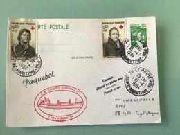 LE HAVRE — Entier Postal Sabine De Gandon - Paquebot - LADY FRANKLIN - Prêts-à-poster:  Autres (1995-...)