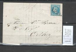 France - Lettre - GC 4485 - COARRAZE - Basses Pyrénées - 1870 - 1849-1876: Periodo Classico