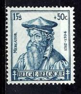 BELGIQUE 598** 1,75f + 50c  Bleu Gérard De Kremer Dit Mercator - Neufs