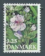 Danemark YT N°984 Fleur Althea Officinalis Oblitéré ° - Usado