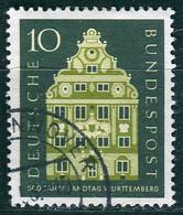 BRD - Mi 279 ⨀ (A) - 10Pf               500 Jahre Landtag Württemberg - Oblitérés