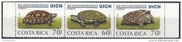 1998 COSTA-RICA 646 A-C** Tortues - Costa Rica
