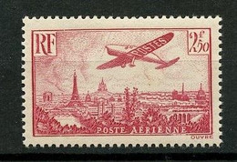 FRANCE PA 1936 N° 11 ** Neuf MNH Superbe C 50 € Avion Survolant Paris Aviation Transports Tour Eiffel - 1927-1959 Neufs