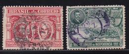 Brazil 1922, Minr 246-247 Vfu - Gebraucht