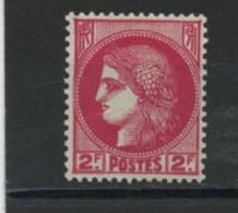 FRANCE -   TYPE CERES 2F ROSE - N° Yvert 373 ** - Neufs