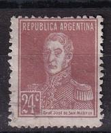 Argentina 1924, Minr 293 Vfu - Oblitérés