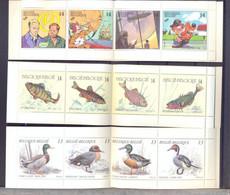Nrs. B19 + B20 + B22  Postgaaf MNH ** Prachtig - Markenheftchen 1953-....