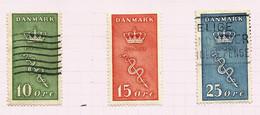 Danemark N°190, 192 Cote 47 Euros (191 Neuf Avec Charnière* Offert) - Oblitérés