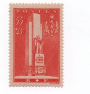France - 1938 - N++ - Service De Santé Militaire  55 + 45 Cts   Rouge  -Yvert N° 395  Bon état - Neufs