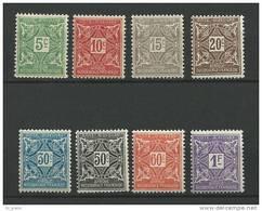 """Cote Ivoire Taxe YT 9 à 16 """" Série Complète """" 1915 Neuf** - Neufs"""