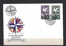 Portugal: 859/860 Sur FDC - Briefe U. Dokumente