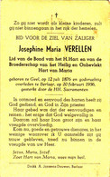 VERELLEN Josephine Maria ° Geel 1876 + Belaer 1956 Berlaar Gheel - Religion & Esotericism