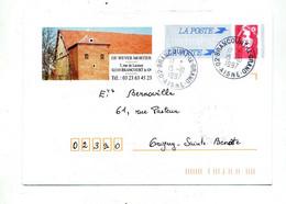 Pap Briat Cachet Brancourt Le Grand Entete Medecin - Prêts-à-poster:  Autres (1995-...)