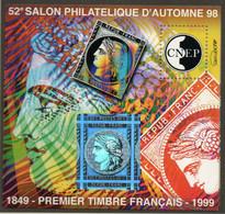 Bloc Feuillet CNEP Salon Philatélique à Paris - CNEP