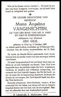 VANGENECHTEN Maria X GILIS Jan  ° Gheel 1887 + 1950 Geel - Religion & Esotericism