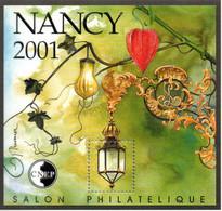Bloc Feuillet CNEP Salon Philatélique De Printemps à Nancy - CNEP