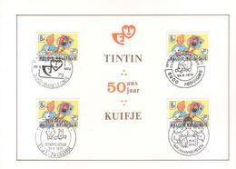 Carte Max  1944 Tintin Kuifje - 1971-1980