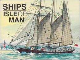 Isle Of Man Markenheftchen 36, Schiffe 96 Pence 1996, ** Postfrisch - Isla De Man