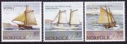 Norfolk Island 2008 Ships Sc 954-56  Mint Never Hinged - Norfolkinsel