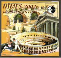 Bloc Feuillet CNEP Salon Philatélique  De Printemps à Nîmes- - CNEP