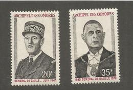 Comores 10 1971 N°77/78 - Neufs