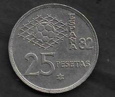 25 Pesetas 1980 ESPANA 82 (82) - 25 Pesetas