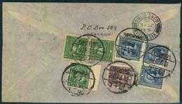 """1938, Air Mail """"By L.A.L."""" Form SHANGHAI Via Hongkong To Frankfurt A. Main - 1912-1949 Republic"""